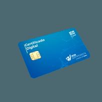 certificado digital modelo a3 em cartão