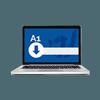 certificado digital modelo a1 em arquivo